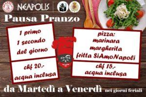 Menu Pranzo Neapolis Taverna