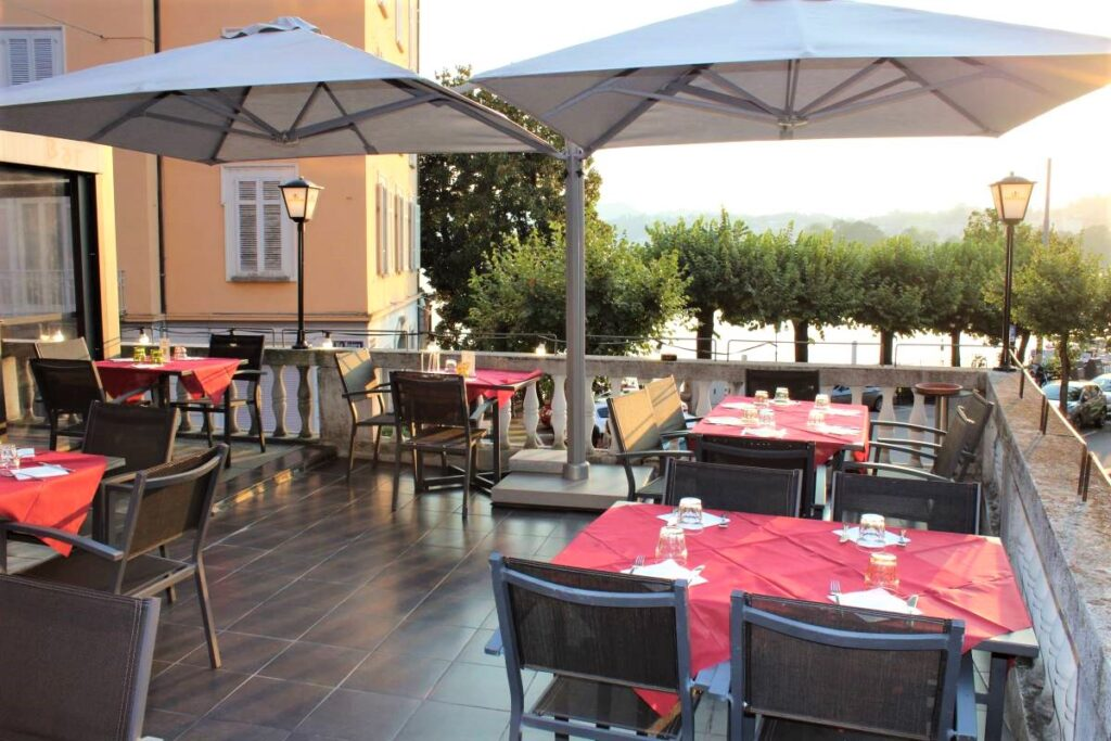 Neapolis Lugano Terrazza estiva